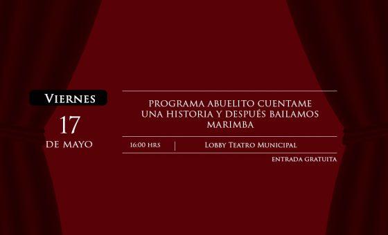 ABUELITO CUENTAME UNA HISTORIA Y DESPUÉS BAILAMOS MARIMBA