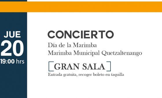 (Día de la marimba)  -Concierto de Marimba-