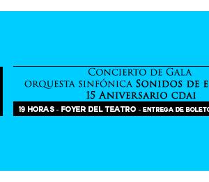 Concierto de Gala 124 Aniversario Teatro Municipal