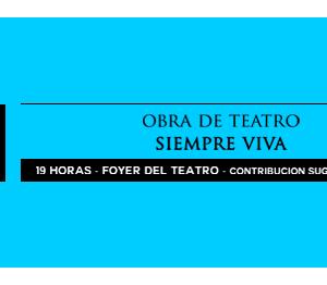 Obra de Teatro Siempre Viva Teatro Títeres Armadillo