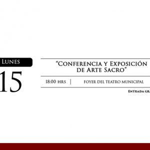Conferencia y exposición del arte sacro