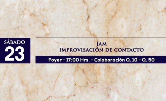 Jam Improvisación de Contacto