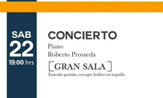 Roberto Prosseda – Piano-