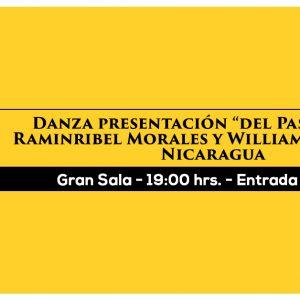 Danza presentación del Pas de Deux Raminribel Morales y William Herrera G.