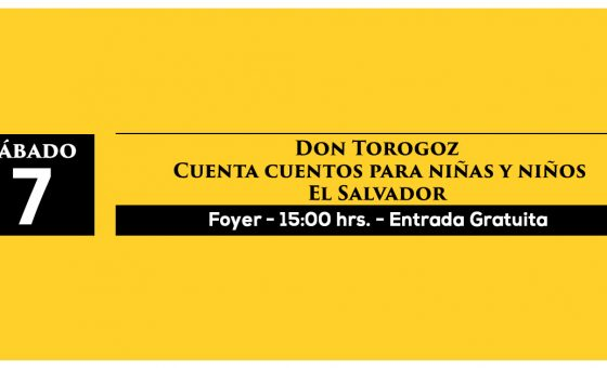 Don Torogoz  Cuenta cuentos